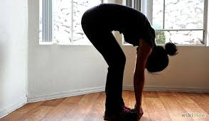 Bend Over Exercise is powerfully grounding.